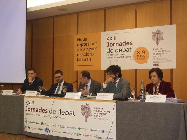 Jornadas Derecho Trabajo Colegio De Graduados Sociales De Tarragona